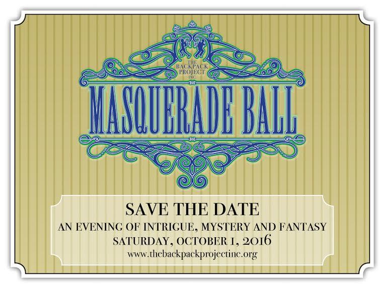 The Backpack Project, Inc Masquerade Ball