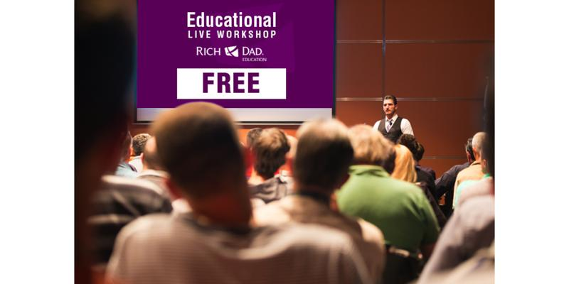 Free Rich Dad Education Workshops Coming to Burnaby June 24th