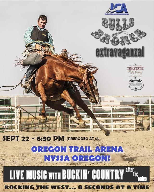 ICA Bulls & Broncs Extravaganza Nyssa