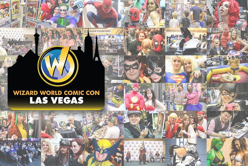 Wizard World Comic Con Las Vegas 2015 VIP Package