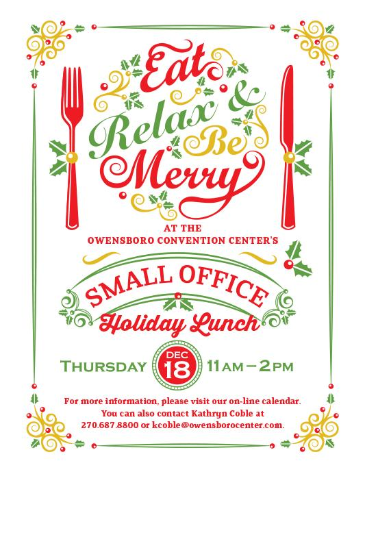 Owensboro (KY) United States  city photos : Small Office Holiday Lunch Tickets in Owensboro, KY, United States