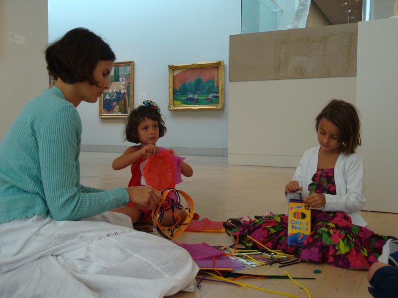 Family Workshop: May-June 2016: Developing an Eye for Art