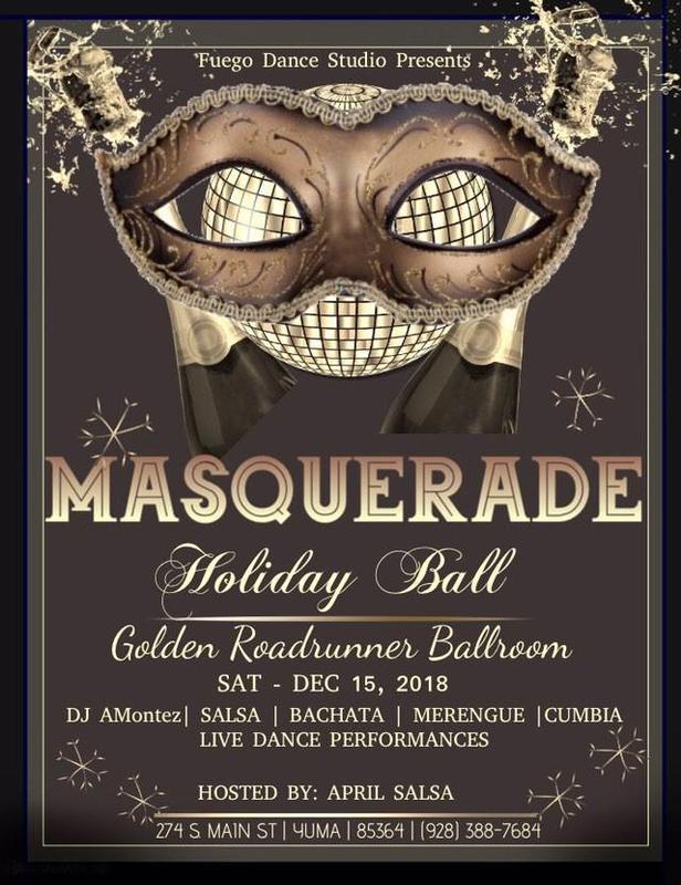 Salsa-Bachata Masquerade Holiday Ball