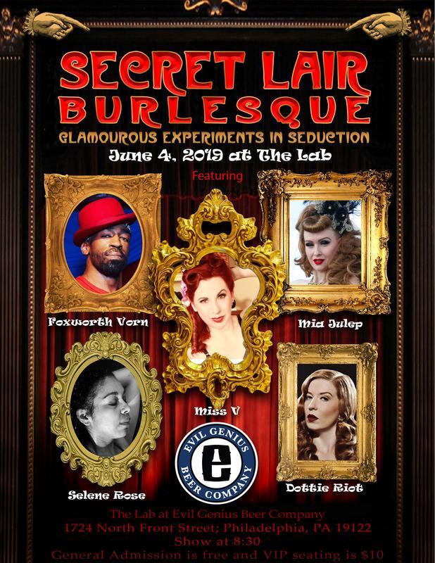 June Burlesque VIP Tickets
