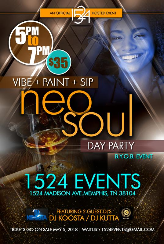 VIBE. PAINT. SIP. NEO SOUL DAY PARTY