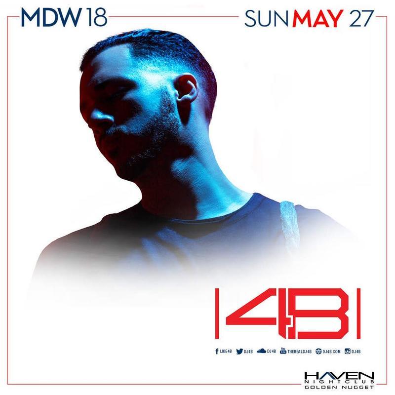 DJ 4B @ Haven Nightclub AC May 27th MDW