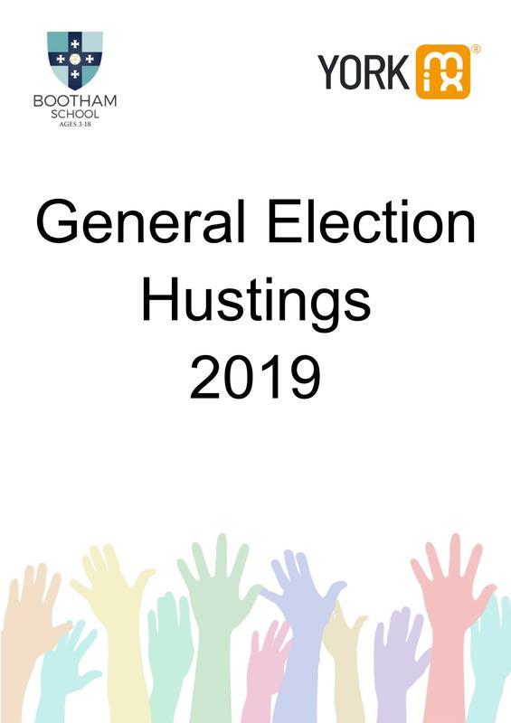 Election Hustings - 2019