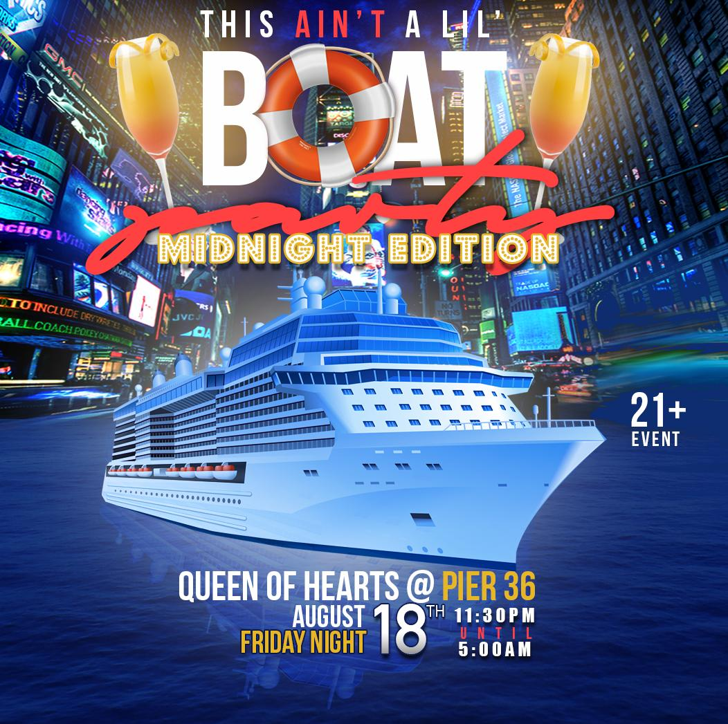 This Aint A Lil Boat Party Midnight Edition Tickets In New York - Cruise ship party