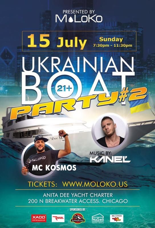 Ukrainian Boat Party #2 by MoLoKo