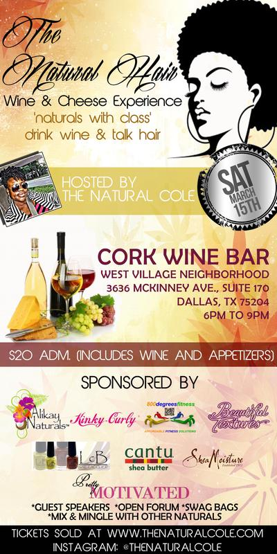 Sponsorship for The Natural Cole Event