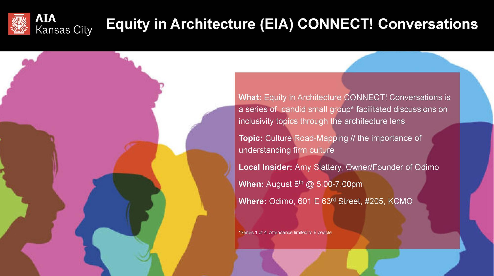Equity in Architecture CONNECT! Conversations