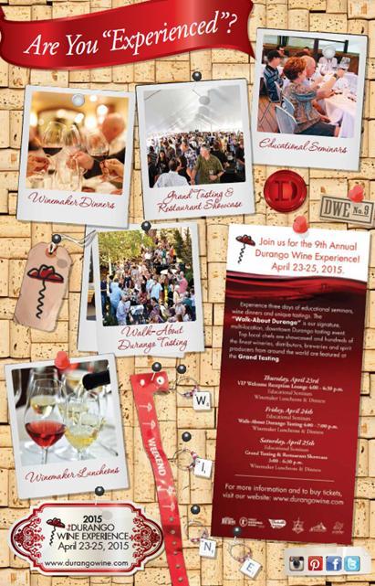 Durango Wine Experience 2015 Ticket Sales