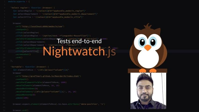 Javascript Testing Selenium Automation Nightwatch js Nodejs - simpliv