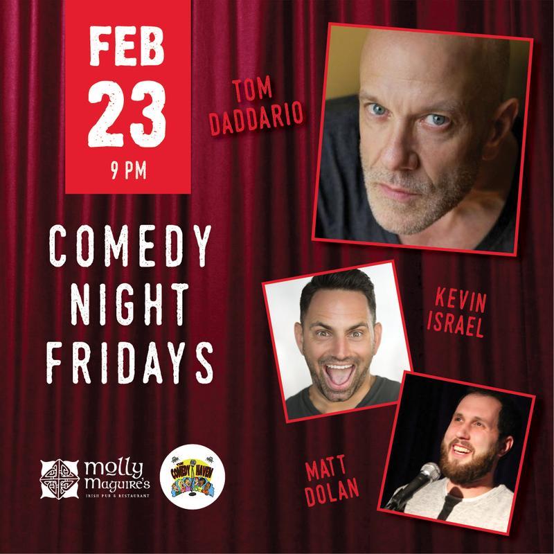 Comedy Night Fridays 2/23/2018
