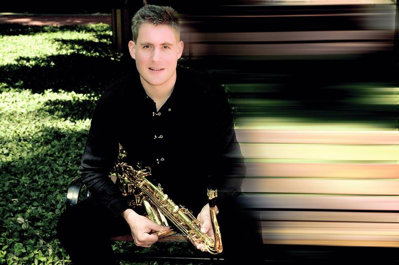 Saxophonist Dave Camwell