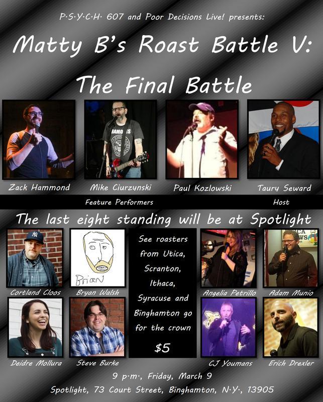 Matty B's Roast Battle V: The Final Battle