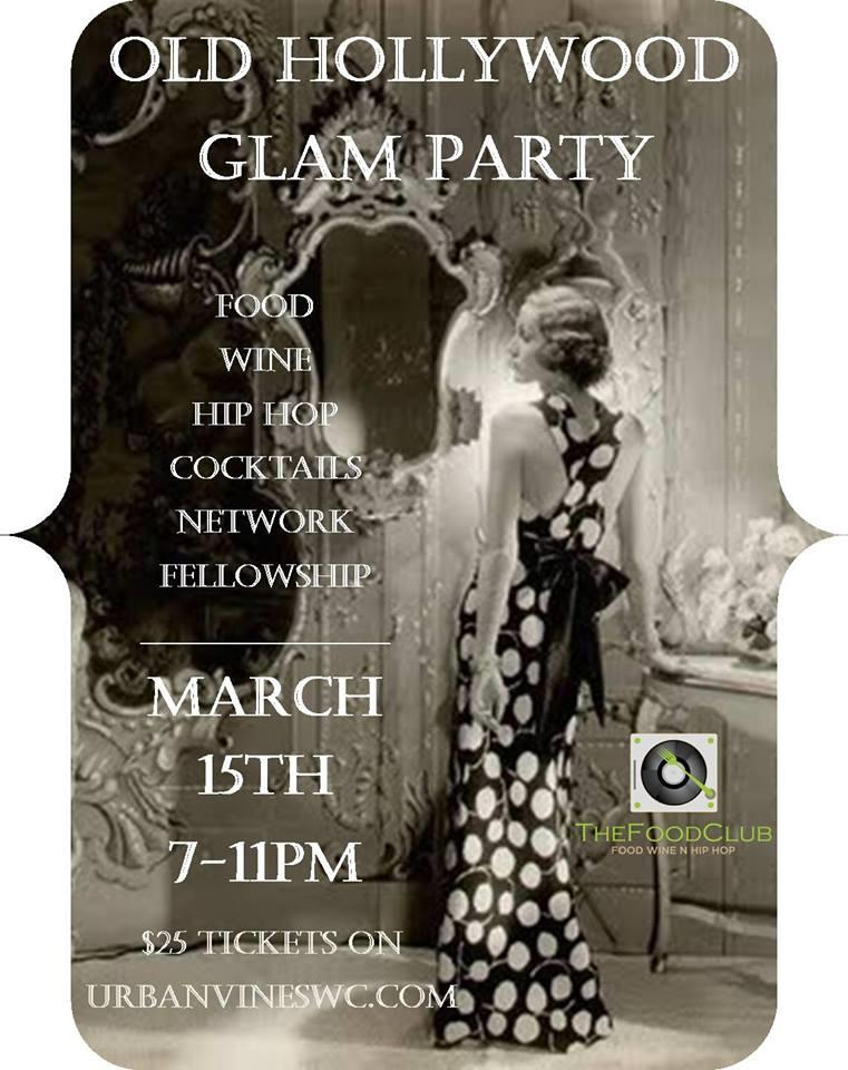 The Food Club: Old Hollywood Glam Party Tickets in Atlanta ...