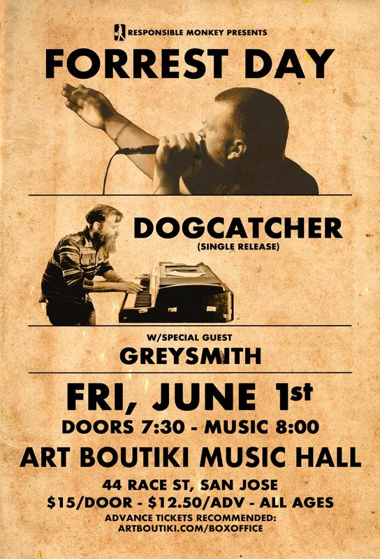 Forrest Day - Dogcatcher (single release) - Greysmith