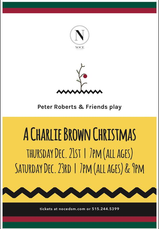 Peter Roberts & Friends Play A Charlie Brown Christmas (all ages)