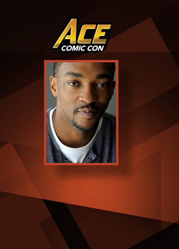 Anthony Mackie VIP @ ACE Comic Con ARIZONA 2018