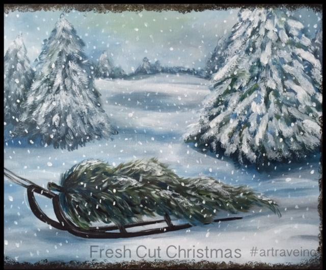 Fresh Cut Christmas - Lakehouse Lake Villa