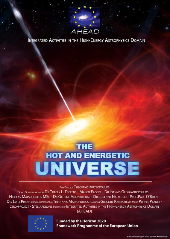 The Hot and Energetic Universe Planetarium Show