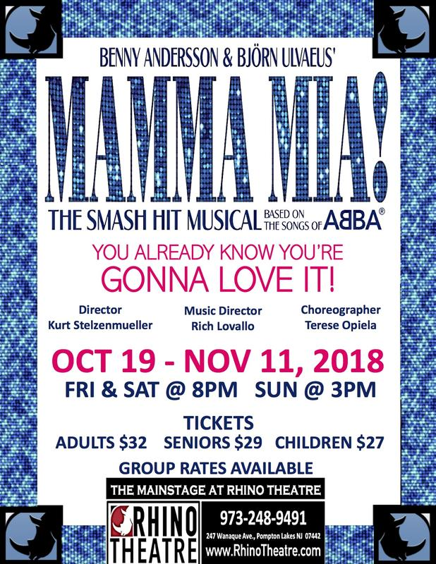 MAMMA MIA @ the MAINSTAGE!