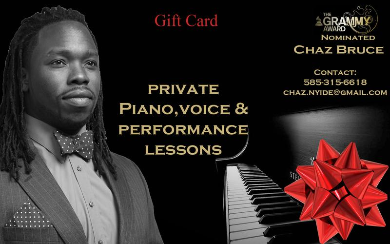 Private Lessons With Chaz Bruce