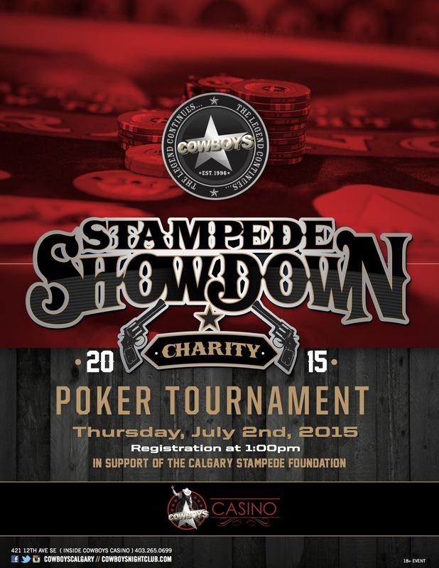 Stampede Showdown Charity Poker Tournament 2015