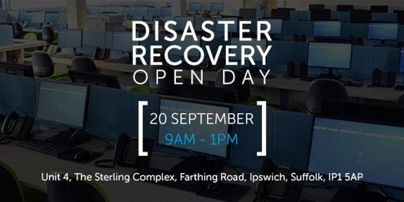 Disaster Recover Open Day 2017