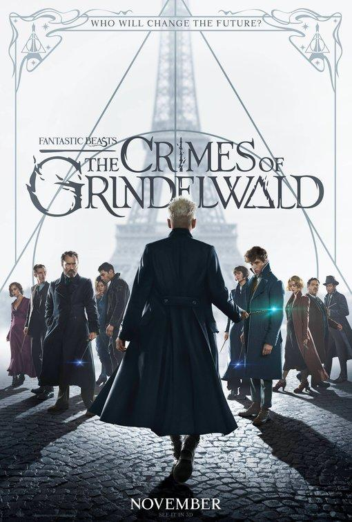 Fantastic Beasts: The Crimes of Grindelwald (Single Feature-Sunday Show)