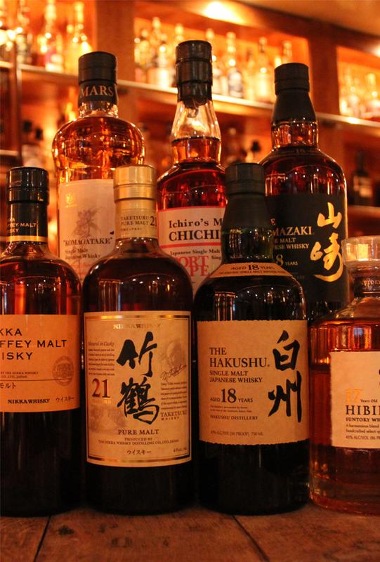 Rare and Precious Japanese Whisky