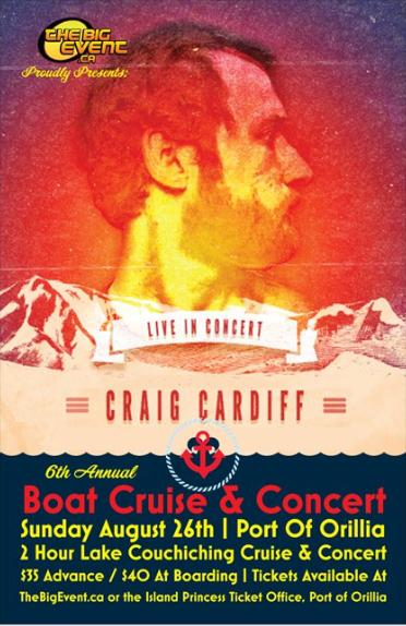 6th Annual Cruise & Concert with Craig Cardiff