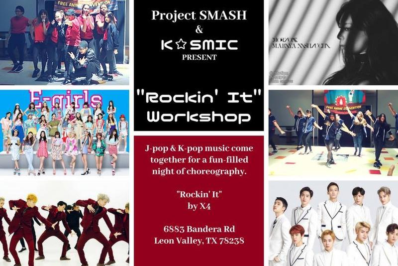 "Kpop Workshop ""Rockin It"""