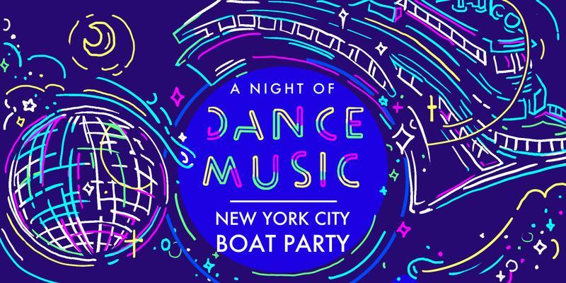 #1 NYC Dance Music Boat Party around Manhattan