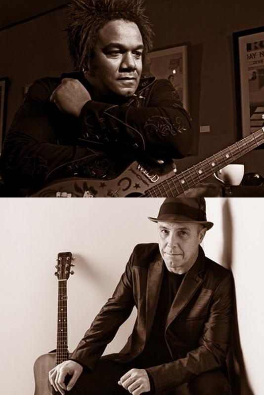 Jeffrey Gaines and Freedy Johnston at Van Vleck House & Gardens