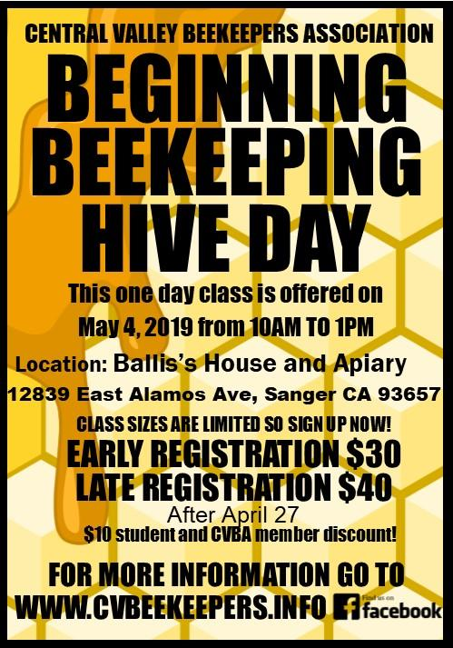 Beginning Beekeepers Hive Day Class