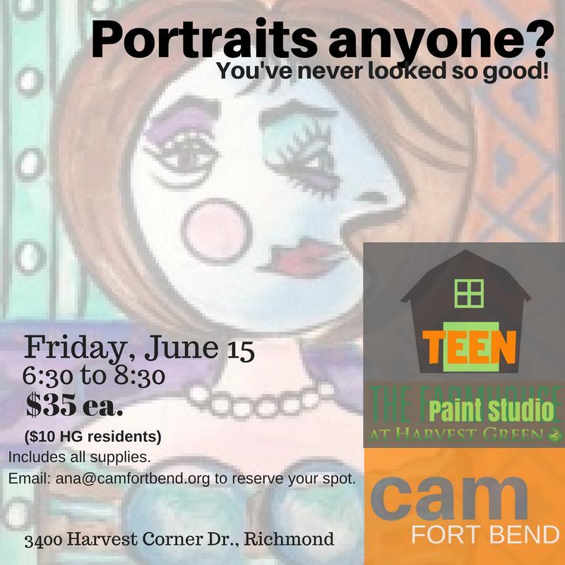 Portraits Anyone? For Teens