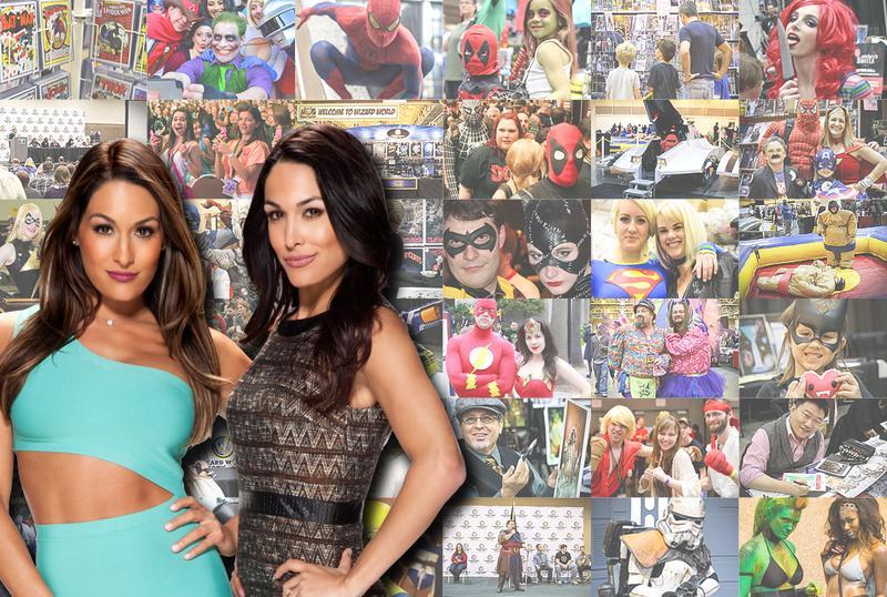 WWE® Divas The Bella Twins™ Saturday VIP Experience @ Portland Comic Con 2015