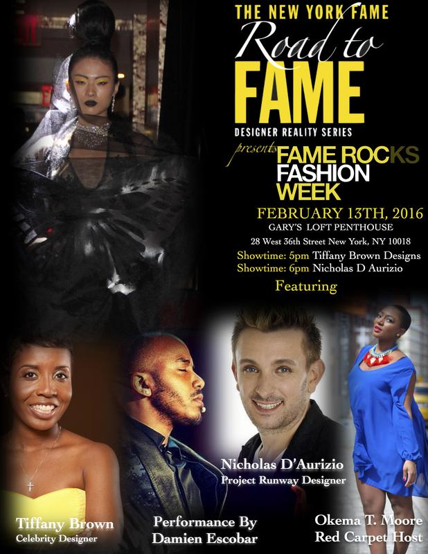 ROAD TO FAME DESIGNER SERIES 2016