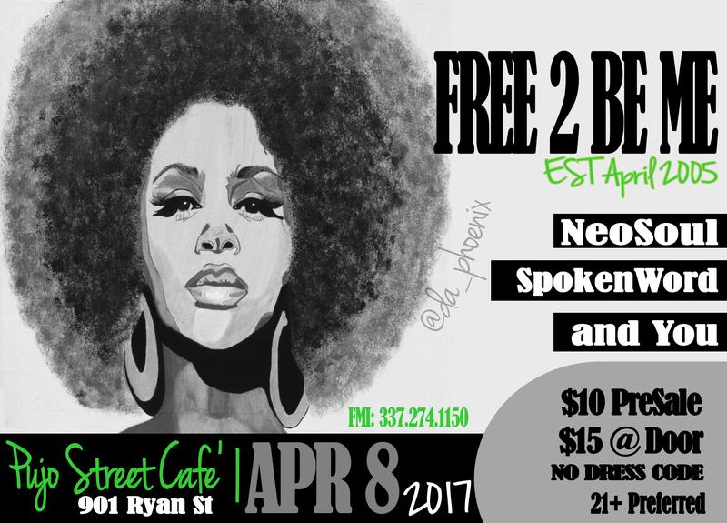 Free2BeMe - NeoSoul, Spokenword and You