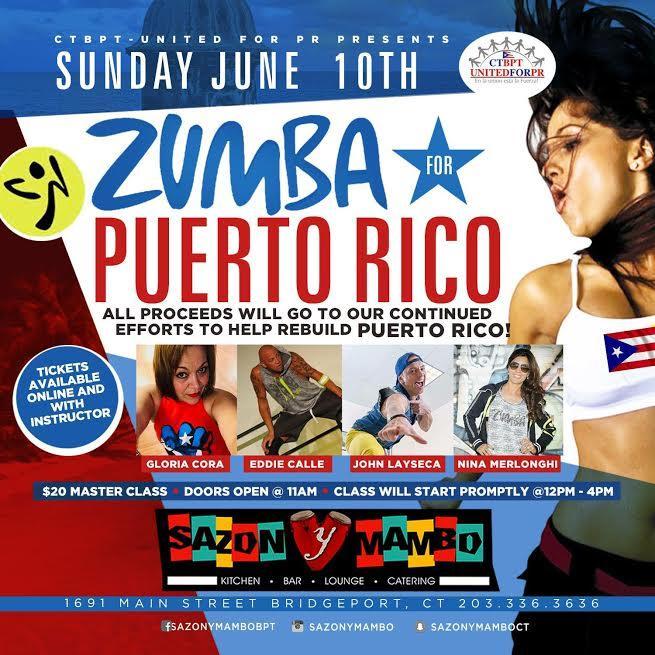 ZUMBA FOR PUERTO RICO