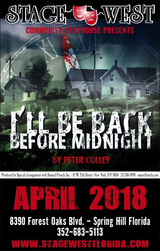 I'll Be Back Before Midnight-Live Theater