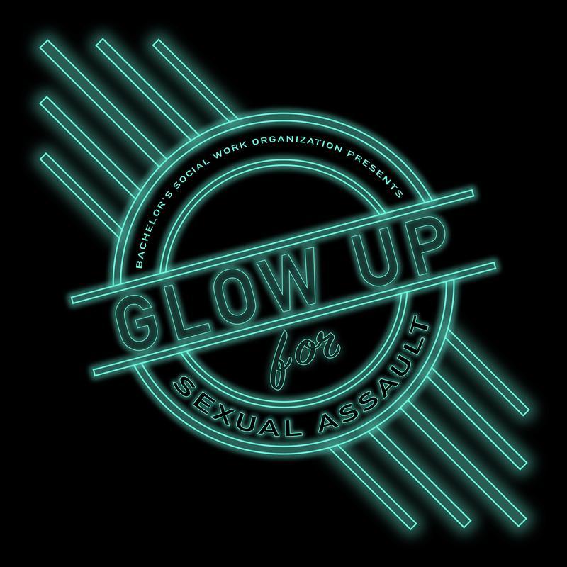 Glow Up for Sexual Assault Awareness