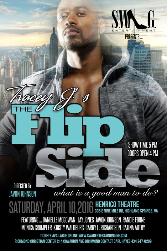 Tracey J's Hit Stage Play-The Flip Side (Richmond)