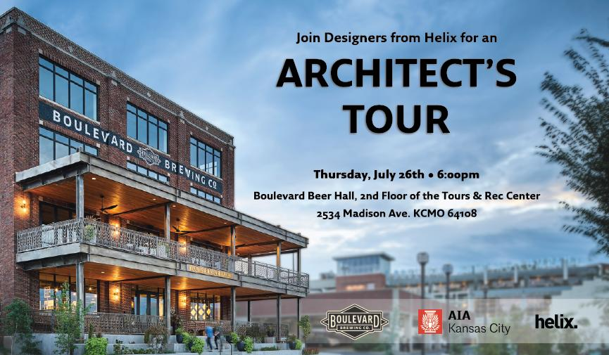 YAF: Architect's Tour: Boulevard Beer Hall