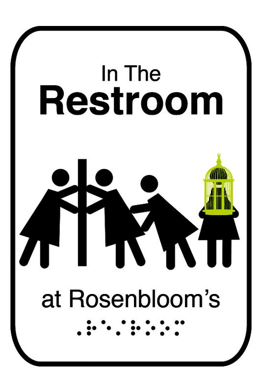 """In The Restroom at Rosenbloom's"" - Dinner Theater Comedy by Ludmilla Bollow"