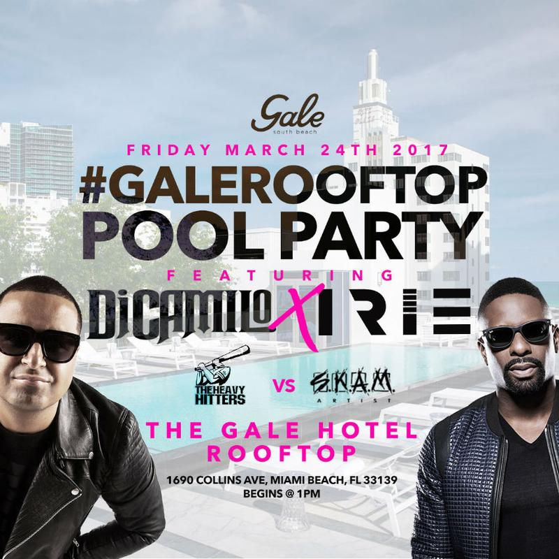 Gale Rooftop Pool Party DJ Camilo Live At Gale Hotel Rooftop