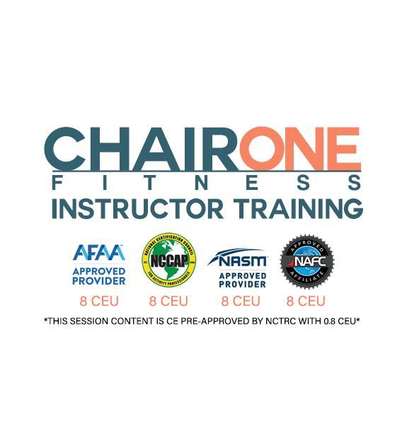 Chair One Fitness Instructor Training - Covington, Louisiana
