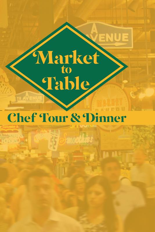 Market to Table: Chef Tour and Dinner Featuring Nick Macri